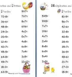 free Easter division worksheet Archives - Homeschool Den [ 835 x 1299 Pixel ]