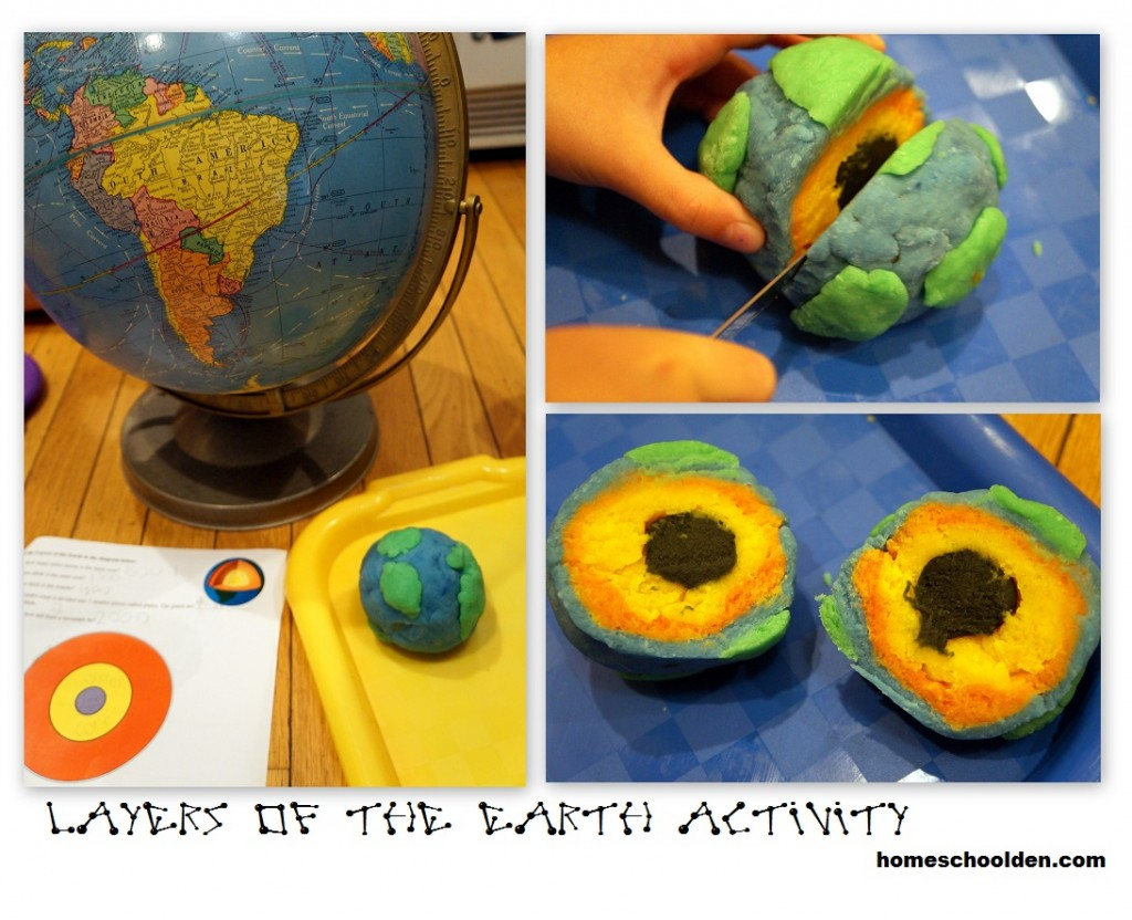 Earth Science Layers Of The Earth Hands On Activity