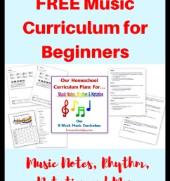 Free Beginner's Music Curriculum: Learning Notes [ 1102 x 735 Pixel ]