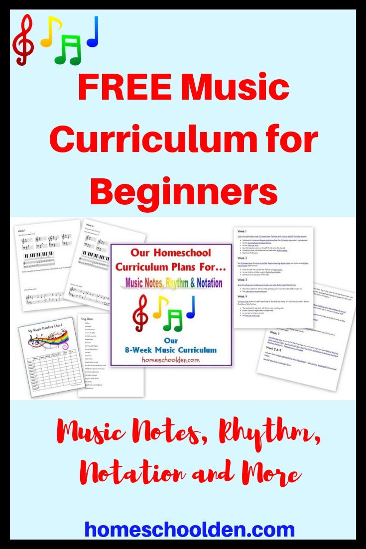 medium resolution of Free Beginner's Music Curriculum: Learning Notes