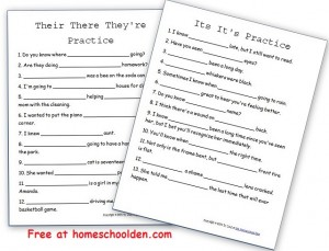 Free Grammar Worksheets: Capitalization Rules Practice