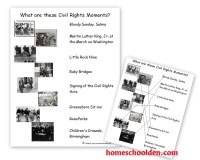 Key Events of the Civil Rights Movement (Free Packet ...