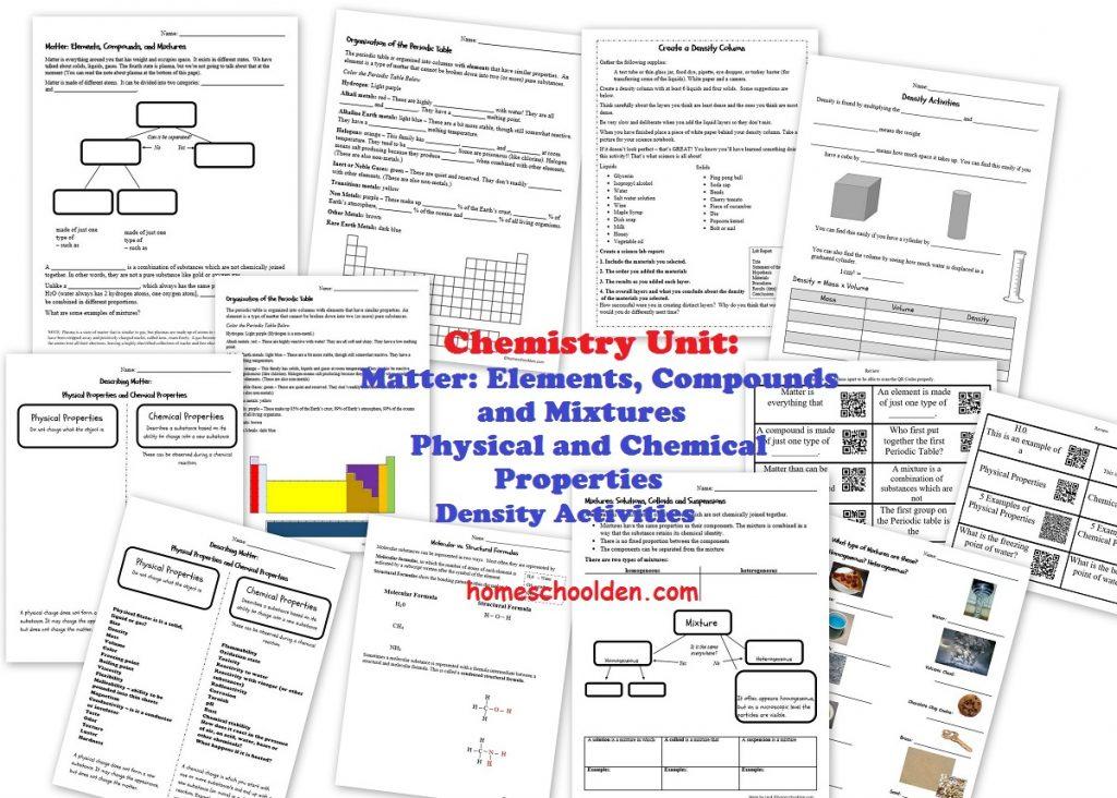 Physic L Properties Of M Tter Chemic L Properties Of M Tter 45