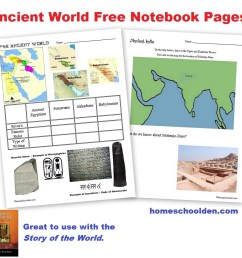 Free Ancient World Worksheets (Egypt [ 942 x 993 Pixel ]