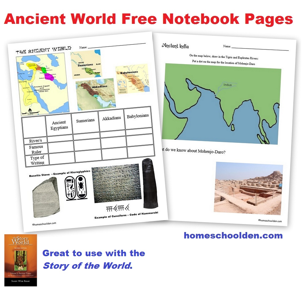 medium resolution of Free Ancient World Worksheets (Egypt