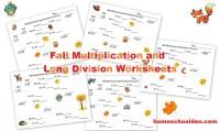 Division Worksheets  Beginning Long Division Worksheets