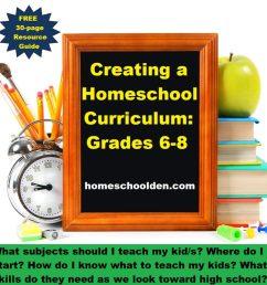 Creating Your Homeschool Curriculum [ 899 x 1024 Pixel ]