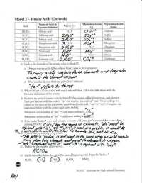 Acid Nomenclature Worksheet