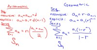 Arithmetic and Geometric Sequences Worksheet ...