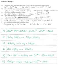Double Replacement Reactions Lab Worksheet