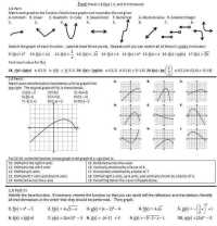 Function Composition Worksheet