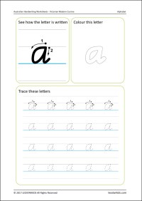 Handwriting Worksheet Generator | Homeschooldressage.com