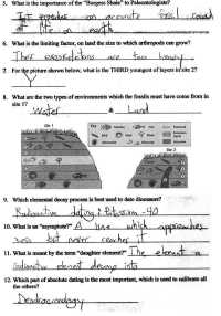 Science Relative Dating Worksheet Answers. Science. Best ...