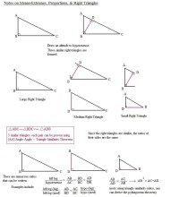 Special Right Triangles Worksheet | Homeschooldressage.com