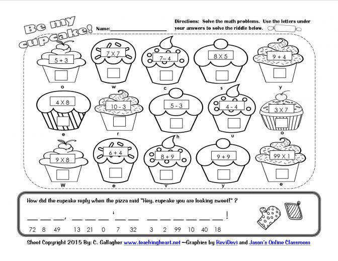 Worksheets For 3 Year Olds