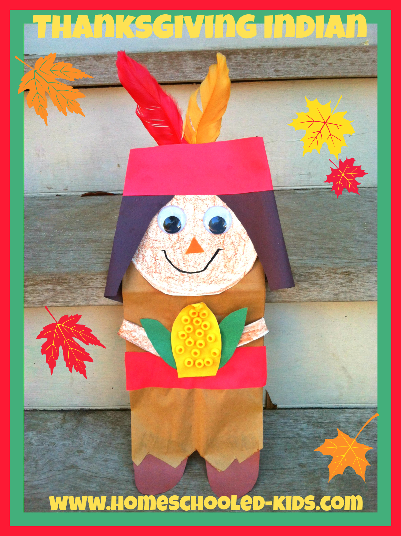 Thanksgiving Indian Craft