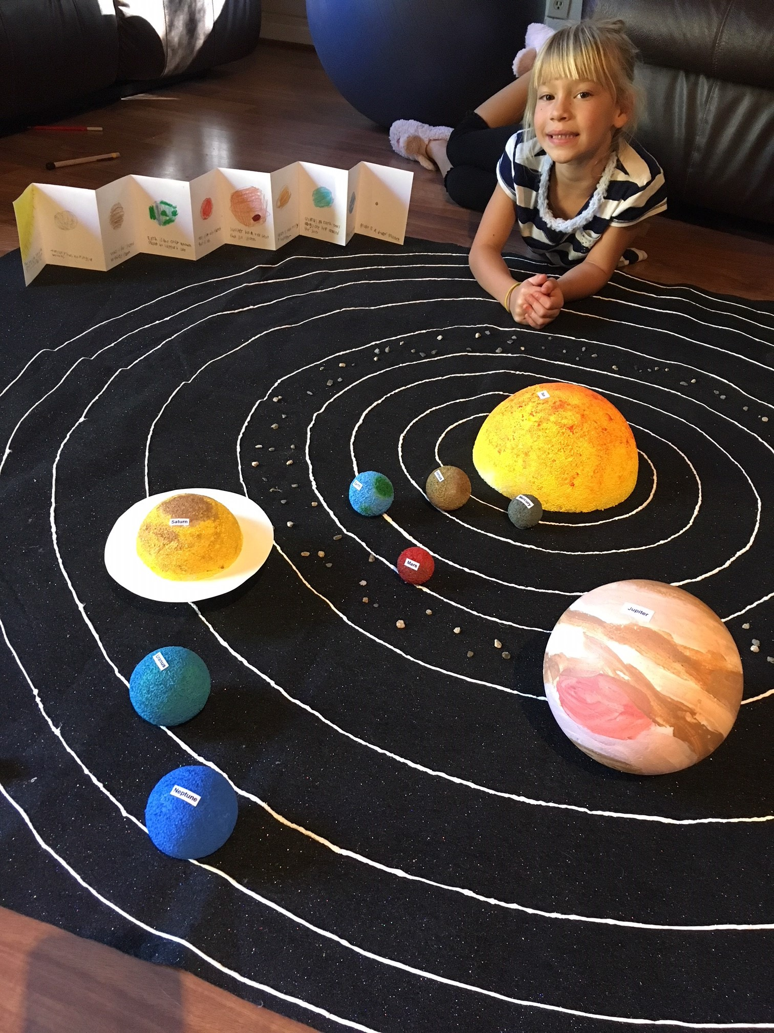 Diy Model Of Our Solar System