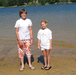 KB & Cade @ Smith Lake