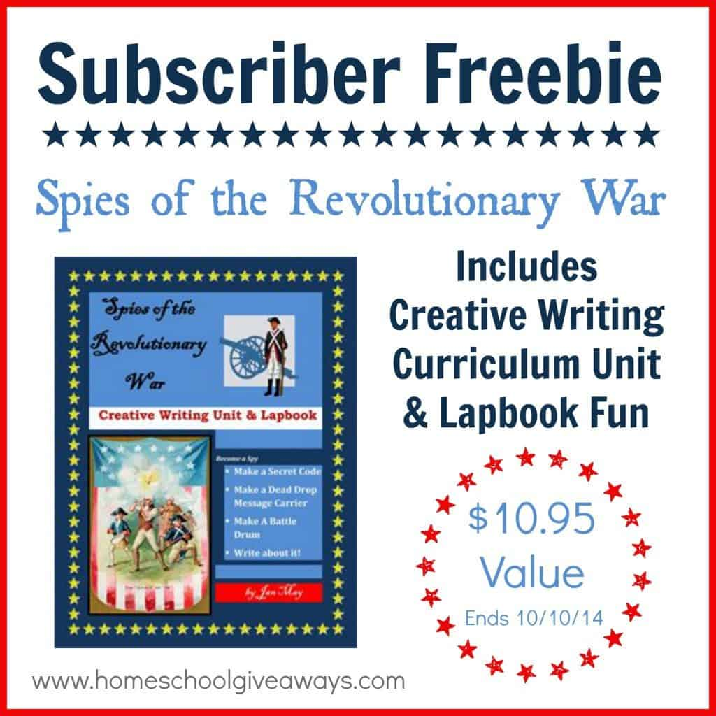 Over Free For Subscribers Spies Of The Revolutionary War Unit Study Ends 10 10 14