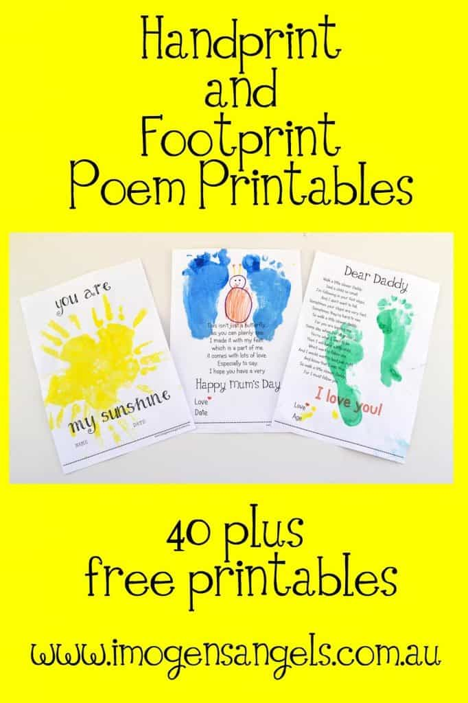 Templates Baby Foot Printables