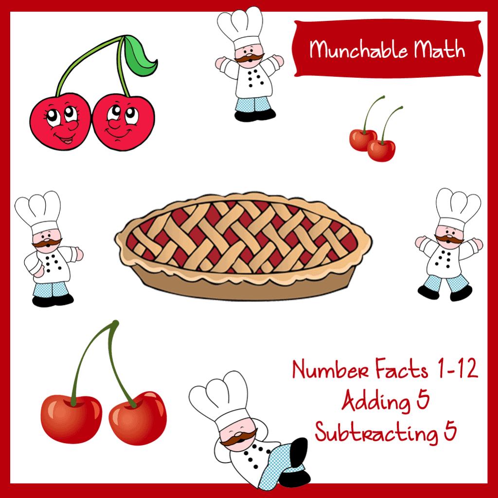 Munchable Math Cherries