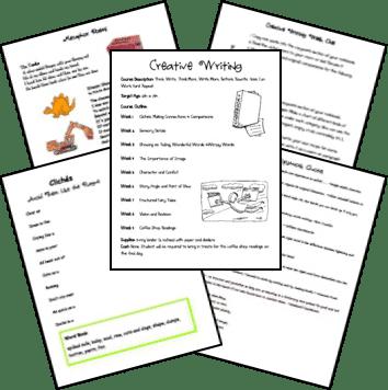 Teaching creative writing elementary school