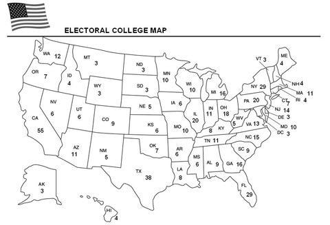 FREE Electoral College Worksheet