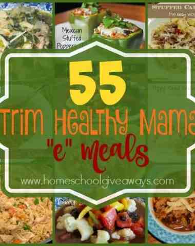 """If you're looking to loose weight, but don't want to sacrifice taste, check out these Trim Healthy Mama """"E"""" Meals! :: www.homeschoolgiveaways.com"""