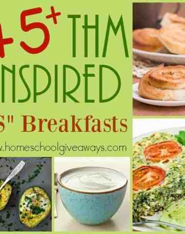 """If you're looking for some great recipes to follow along with the THM lifestyle, check out these """"S"""" Breakfasts! :: www.homeschoolgiveaways.comIf you're looking for some great recipes to follow along with the THM lifestyle, check out these """"S"""" Breakfasts! :: www.homeschoolgiveaways.com"""