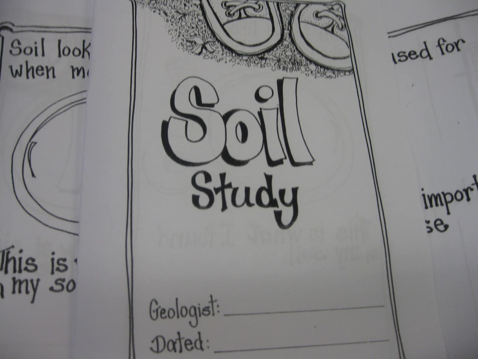 Free Printable Soil Study Worksheet
