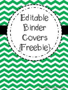 Free Printable Editable Binder Covers  Homeschool Giveaways