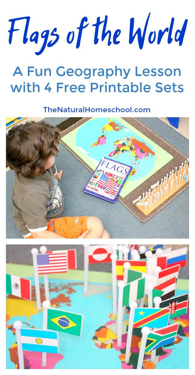 photo relating to Printable Sets titled Place Flags of the Worldwide: A Entertaining Geography Lesson with 4