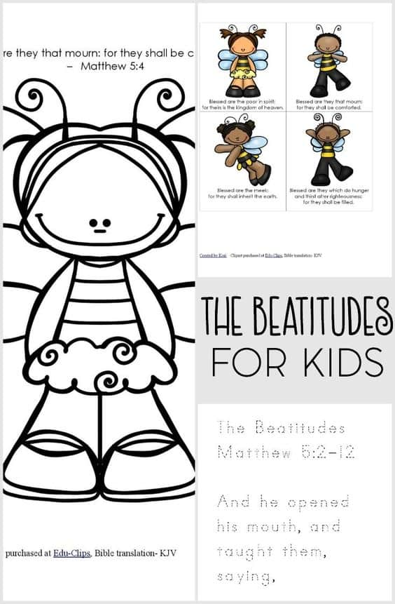 The Beatitudes FREE Printable Pack
