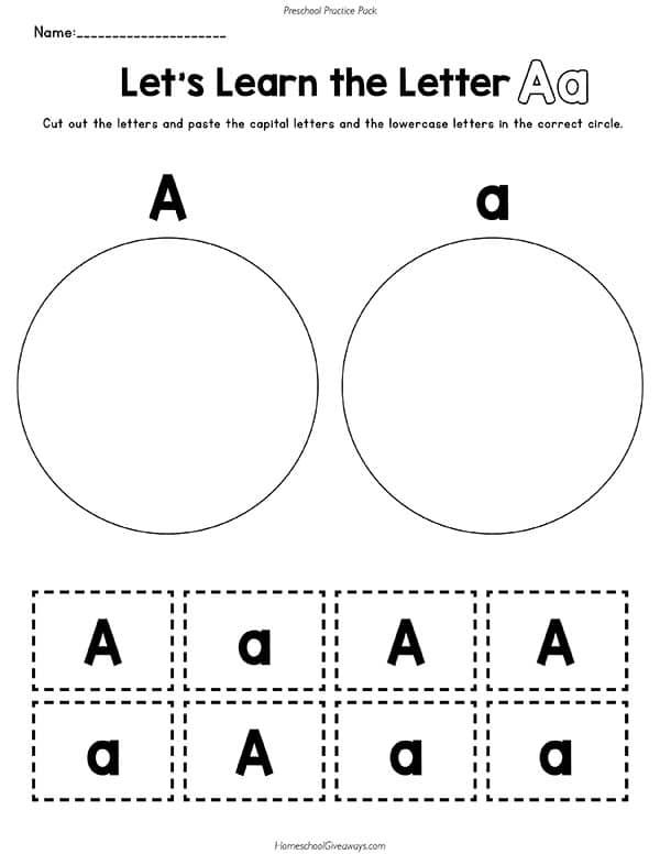 Preschool Practice Pack: 13 Weeks of Letters, Shapes