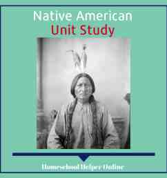 Native Americans Unit Study - Homeschool Helper Online [ 1000 x 1000 Pixel ]