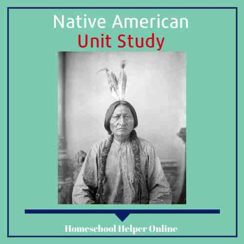 small resolution of Native Americans Unit Study - Homeschool Helper Online