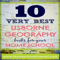 10 Usborne Geography Books for Homeschoolers