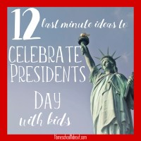 12 Last-Minute Ideas to Celebrate Presidents Day