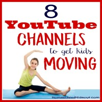 Homeschool PE Channels to Get You Moving!