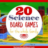 20 Science Board Games