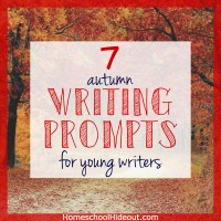 7 Autumn Writing Prompts for Young Writers