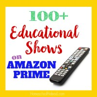 100 Educational Shows on Amazon Prime