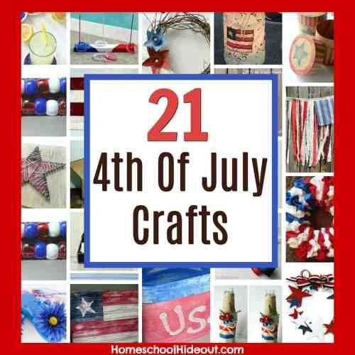 small resolution of 21 DIY Patriotic Crafts - Homeschool Hideout
