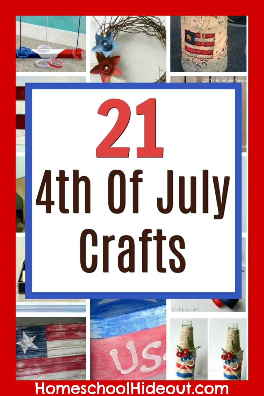 medium resolution of 21 DIY Patriotic Crafts - Homeschool Hideout