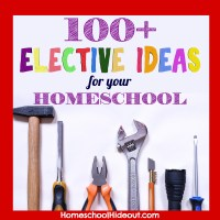 100+ High School Elective Ideas for Homeschoolers