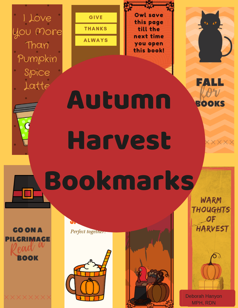 Freebies, Autumn Bookmarks, Magnesium as Therapy, and More