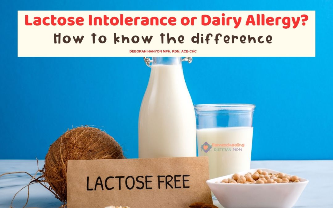 Lactose Intolerance or Dairy Allergy?