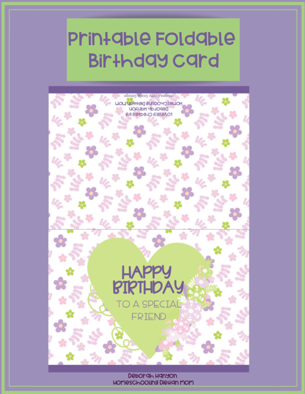 Printable Cards for Girls