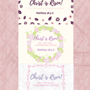 Easter He Is Risen Free Printable Cards
