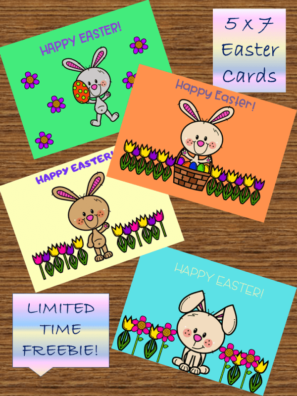 Free Easter Bunny Cards